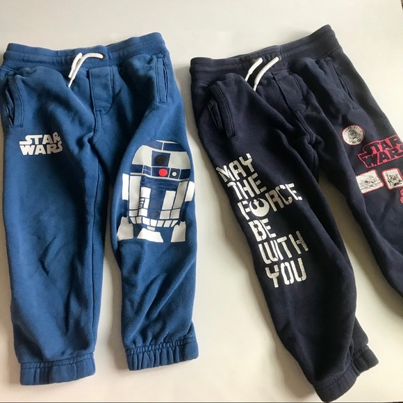 Toddler Boys Star Wars  Joggers Pant  Size 2T 3T NWT